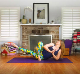 Free Online Yoga Videos with Om Fairy