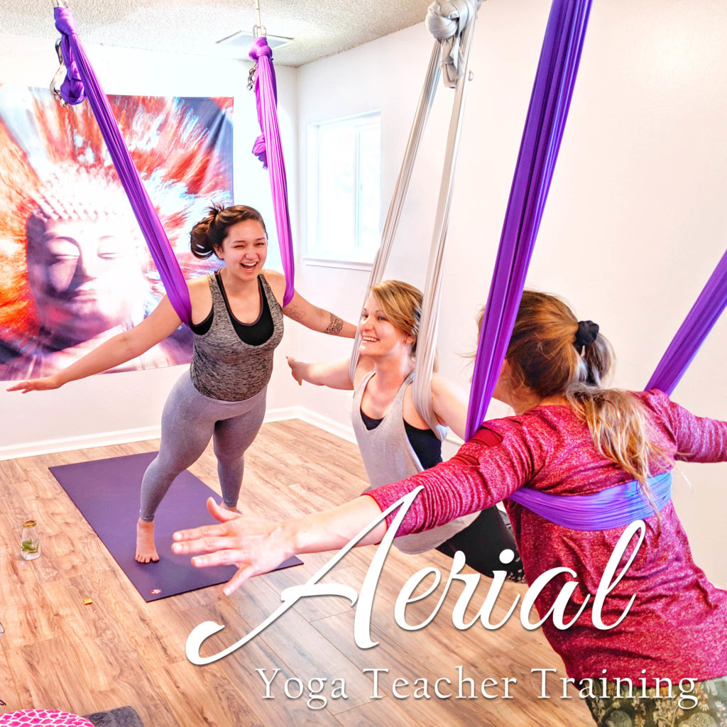 Om Fairy® Aerial Yoga Teacher Training | A 50-hour YTT Immersion