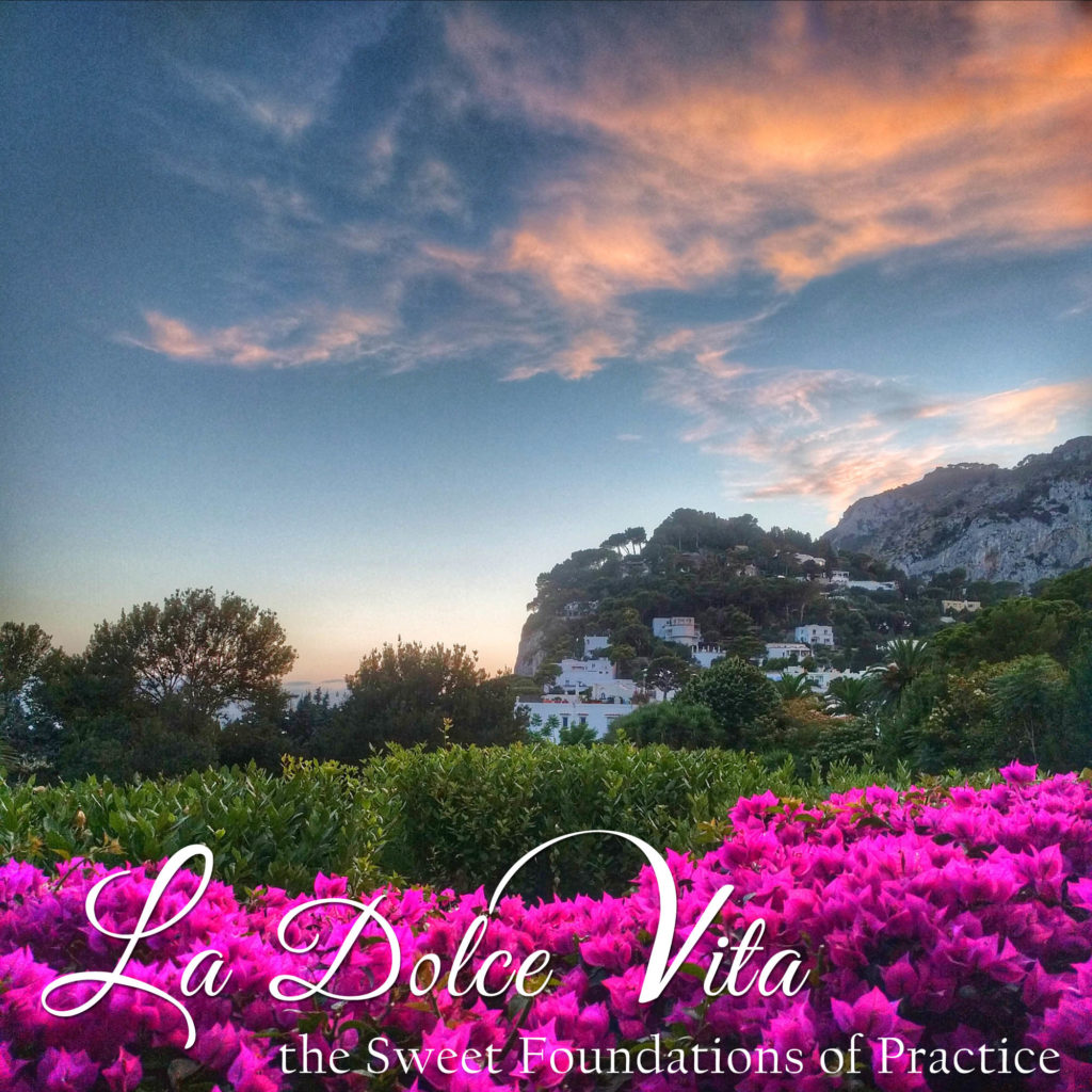 La Dolce Vita :: The Sweet Foundations of Practice | A 50-hour YTT Immersion